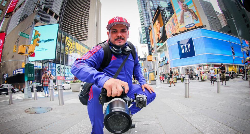 De Los Olivos a Nueva York: la historia del fotógrafo peruano que la está rompiendo en Manhattan