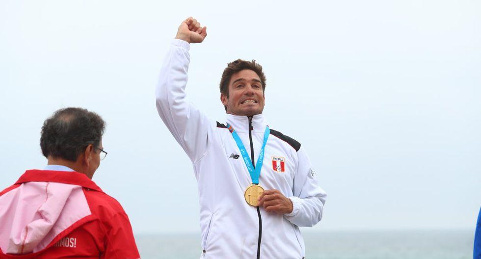 Benoit Clemente – Oro en longboard (Foto: GEC)