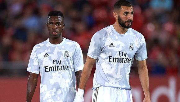 Vinicius Junior explicó polémica con Karim Benzema en entrevista para TNT Sports Brasil