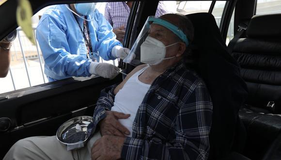 Minsa precisó que son 1 millón 300,000 los adultos mayores que están registrados en el Perú en este rango de edad (Foto: Jorge Cerdán/GEC)
