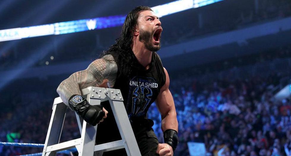 Reigns desató su ira. (WWE)