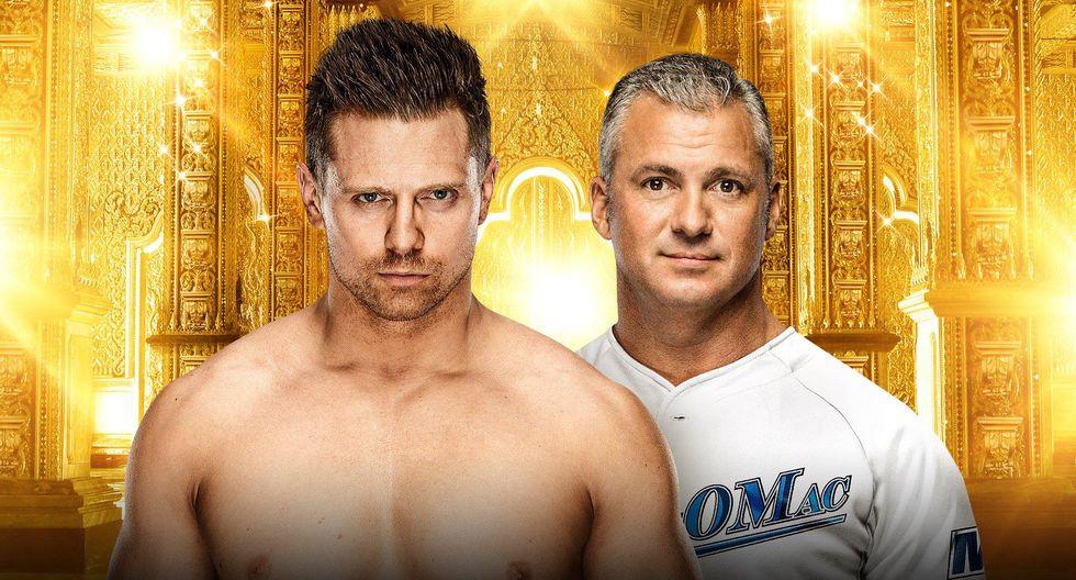 Ocho superestrellas competirán en la lucha de escaleras por el premio del 'maletín con dinero en el banco'. (WWE)