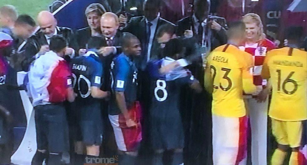 Emoción desbordó a jugador es de Francia tras conseguir la Copa del Mundo