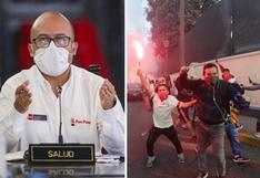 Victor Zamora, exministro de Salud, pide suspender la Liga 1 tras banderazo de hinchas de Universitario [VIDEO]