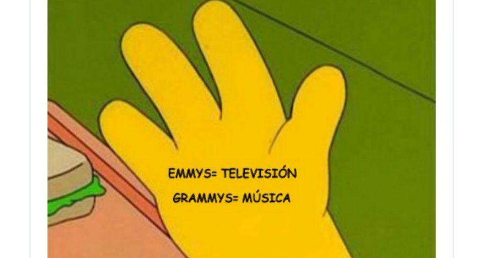 Los Premios Emmy 2019 dejaron ingeniosos memes en Facebook y Twitter. (Foto: Facebook y Twitter)