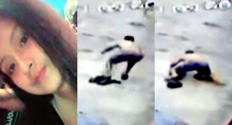 Captan a feminicida saltando desde el segundo piso de hostal tras matar a su pareja de un balazo en la cara   TROME