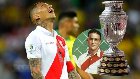 Paolo Guerrero se quedaría sin estos récords en Copa América  (Foto: AFP)