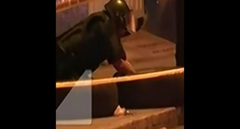 Sujeto amenaza con granada a trabajadores de discoteca porque le prohibieron el ingreso