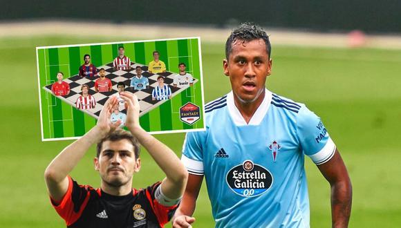 Renato Tapia en la mira de Iker Casillas (Foto: Getty Images)