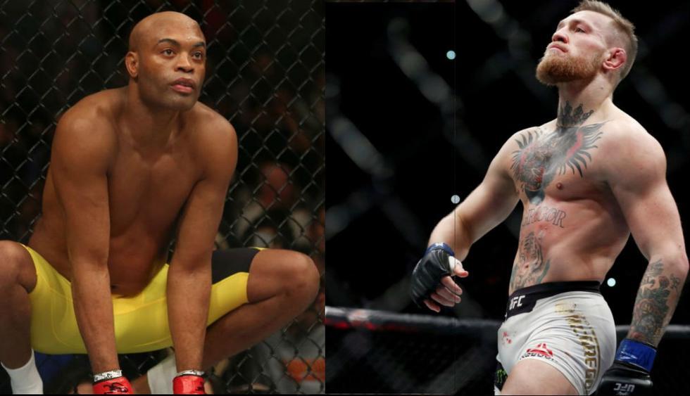 La leyenda del UFC, 'Spider' Anderson Silva, desafió a Conor McGregor. (Redes sociales)