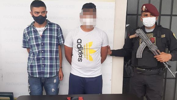 Colombianos fueron capturados por agentes del Escuadrón de Emergencia Norte.