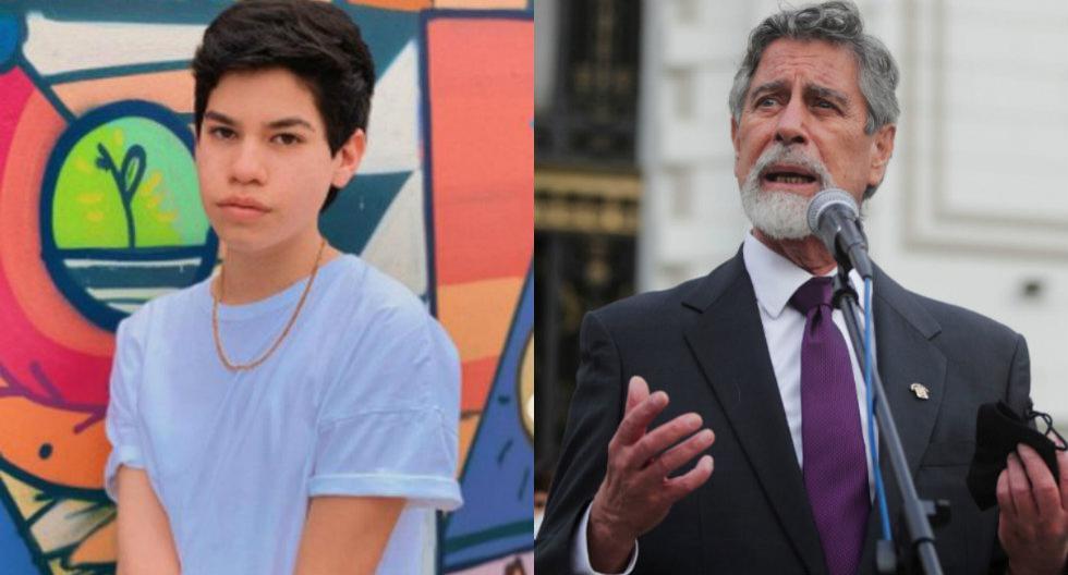 """Josi Martínez le advierte a Sagasti: """"Todos los jóvenes del Perú vamos a vigilar cada cosa que se haga en el gobierno. Avisados están"""""""