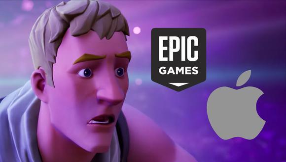 Epica Games y Apple se expresaron en redes sociales por todo lo ocurrido