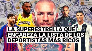 Conoce el atleta más rico del mundo por delante de Cristiano Ronaldo y Lionel Messi, según Forbes