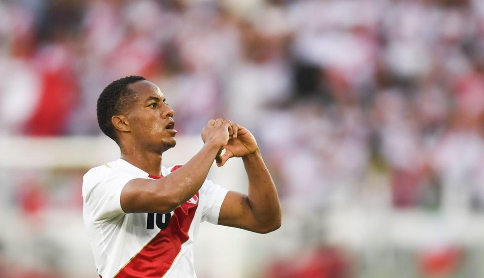 André Carrillo será titular ante Dinamarca por el Grupo C del Mundial Rusia 2018