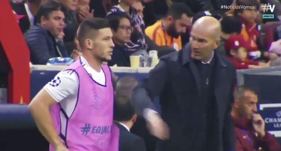 Luka Jovic ingresó a los 82' en lugar de Rodrygo Goes. (Captura: YouTube)