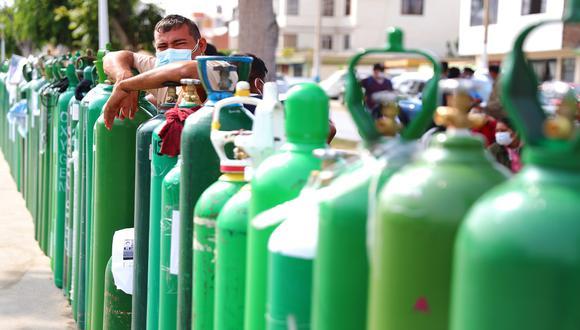 Lambayeque: se reinicia la distribución gratuita de oxígeno para los pacientes con COVID-19 (Foto referencial : GEC)