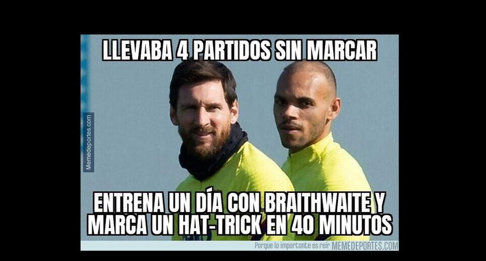 Los mejores memes del triunfo de Barcelona ante Eibar por LaLiga.