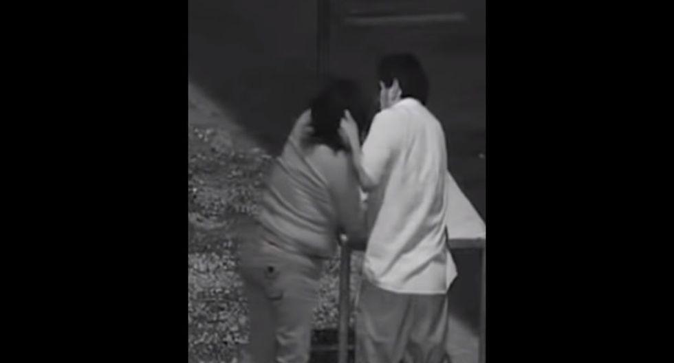 Sujeto masacra a su pareja en plena calle, lo detienen pero víctima se niega a denunciarlo. Foto: Captura de 24 Horas