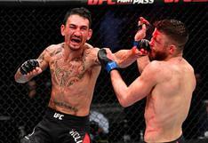 UFC arrancó el 2021 con una tremenda demostración de Max Holloway   VIDEO