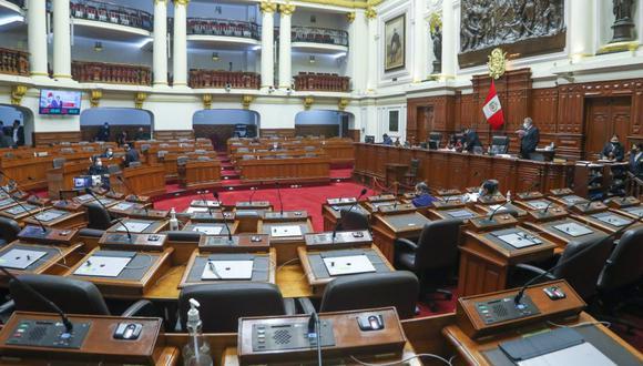 Pleno del Congreso de la República fue convocado para sesionar el miércoles, jueves y viernes. (Foto: Congreso de la República)