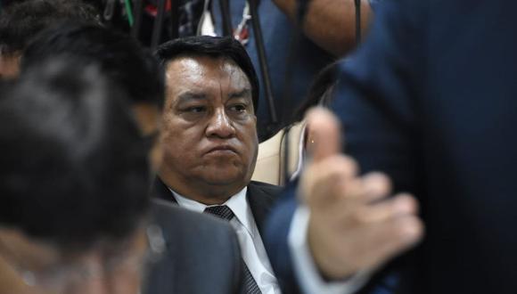 José Luna Gálvez manejó entregas de dinero de las empresas brasileñas Odebrecht y OAS para Castañeda Lossio, según la tesis fiscal. (Foto: Poder Judicial)