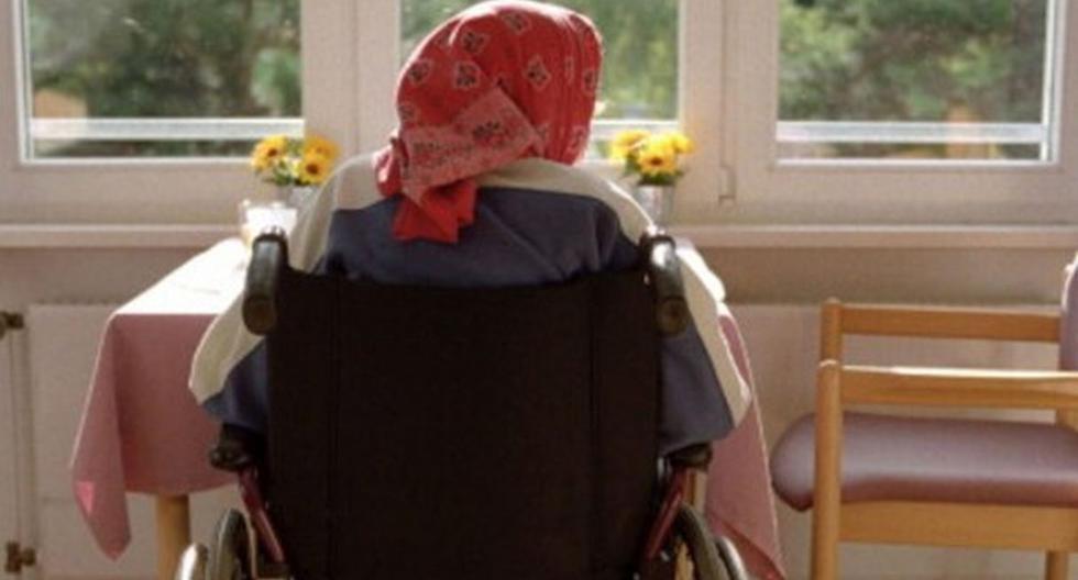 Abuelita de 91 años fue rescatada tras pasar una semana sola y encerrada en su casa. Foto: Referencial