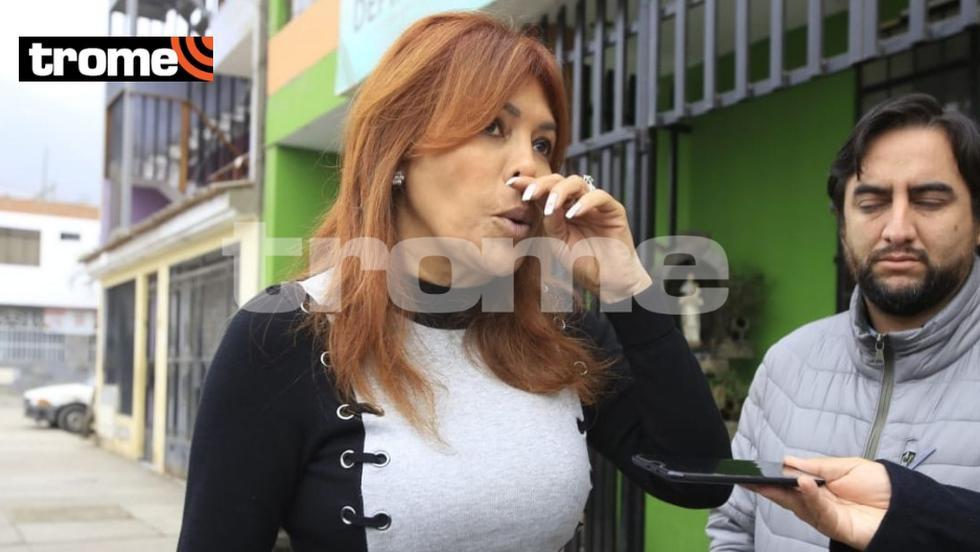 Detienen a equipo periodístico de Magaly Medina y conductora denuncia 'abuso de autoridad' (FOTO: Jessica Vicente)