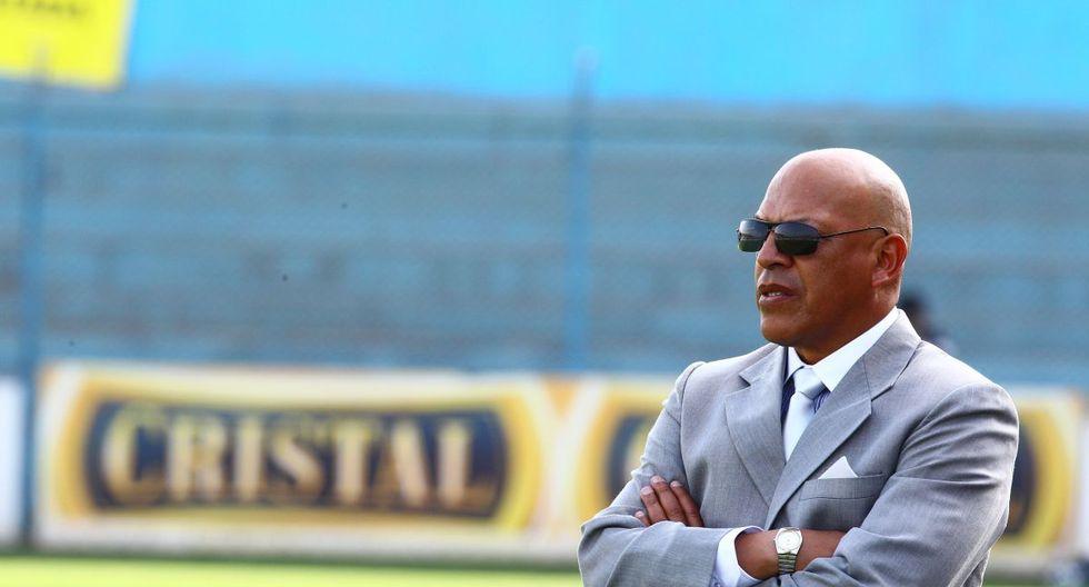 Roberto Mosquera, nuevo técnico de Sporting Cristal