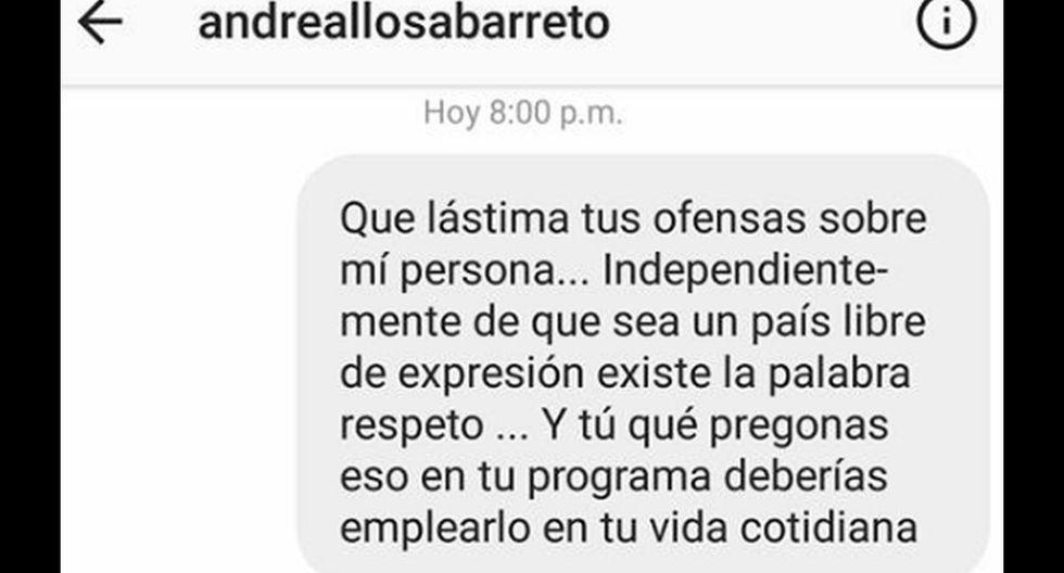 Andrea Llosa se burla del deseo de Reimond Manco de regresar a la selección. El futbolista le responde así
