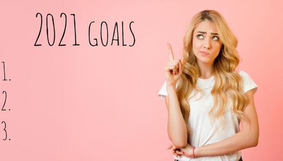 El 2021 es un año para alcanzar nuestras metas.