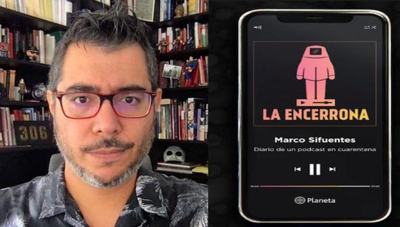 Marco Sifuentes publicó 'La Encerrona' basada en su mininoticiero. (Instagram)
