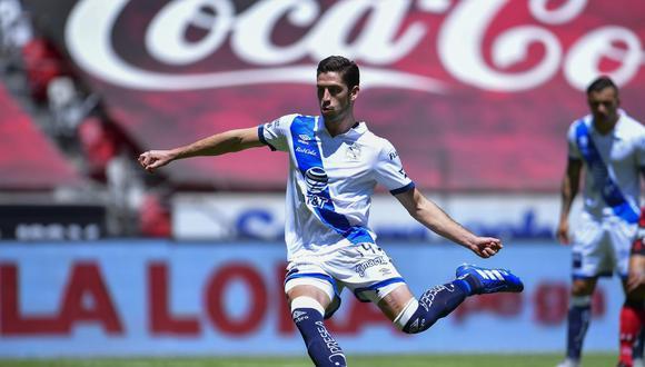 Santiago Ormeño es el goleador del Puebla de México. Su carrera está en ascenso y varios equipos buscan ficharlo. (Foto: MexDeportes).