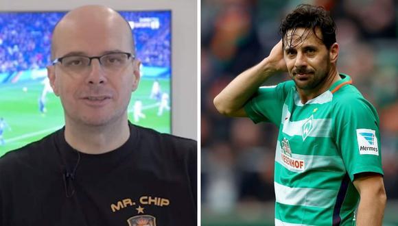 Claudio Pizarro colgó los botines a los 41 años con Werder Bremen