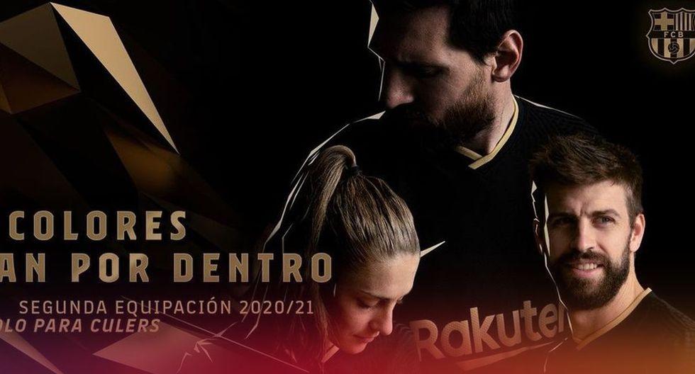 Así es el nuevo uniforme alterno del FC Barcelona para la temporada 2020-21. (Fotos del FC Barcelona)