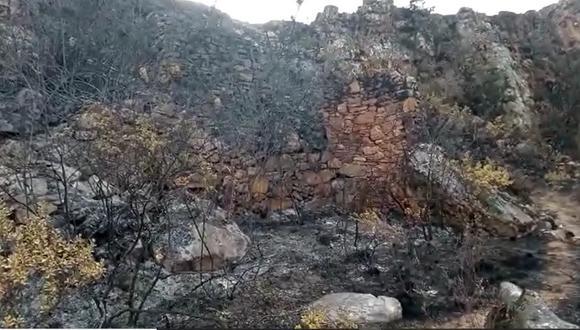 Áncash: COER reporta que últimos incendios forestales  ocasionaron daños en sitios arqueológicos (Foto: COER Áncash)