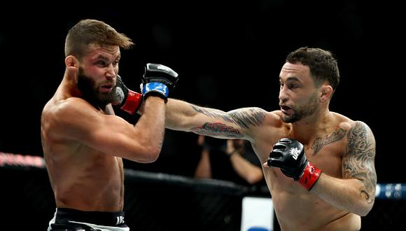 Frankie Edgar se lució ante Stephens en el UFC 205. (Getty)