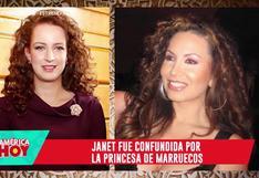 "Janet Barboza tras ser confundida con princesa de Marruecos: ""Nunca le pasará a Melissa Paredes ni a 'Giselo'"""