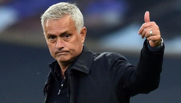 José Mourinho dejó el Tottenham pero cobró liquidación millonaria. (Foto: AFP)