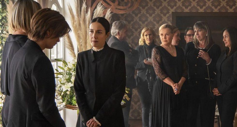 """Salieron fotos de funeral de Virgnia de la Mora, la matriarca de """"La casa de las flores"""". (Foto: Quién/Javier Ávila)"""