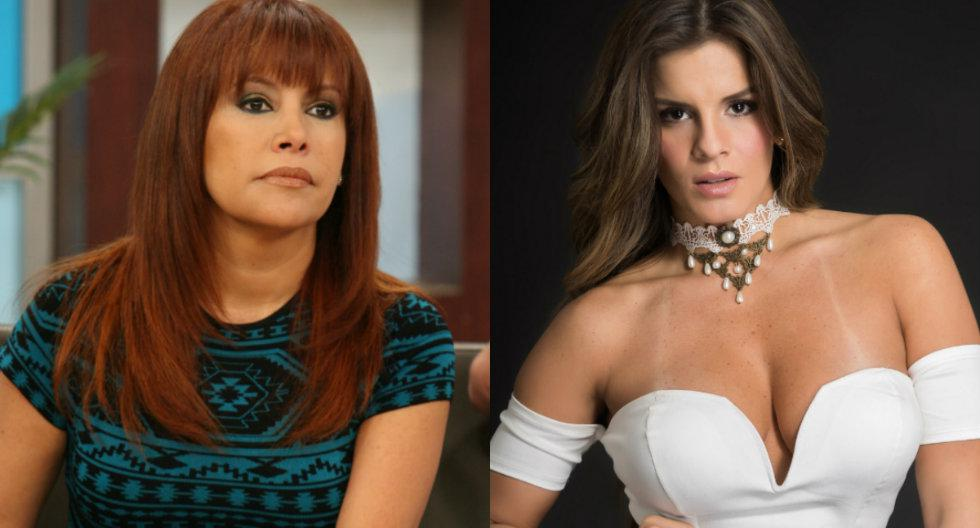 Magaly Medina indignada con y Alejandra Baigorria   TROME
