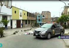 Chorrillos: Vecinos encuentran cadáver de un hombre abandonado en plena calle | VIDEO