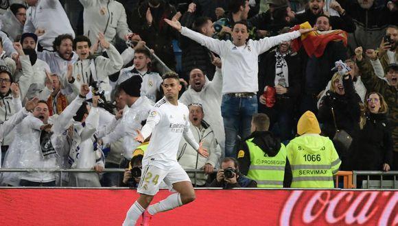 Gol de Mariano en Real Madrid vs Barcelona