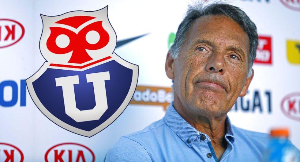 Miguel Ángel Russo cerca de ponerse el buzo de Universidad de Chile