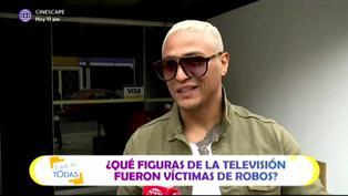 Famosos de la TV que fueron víctimas de robos