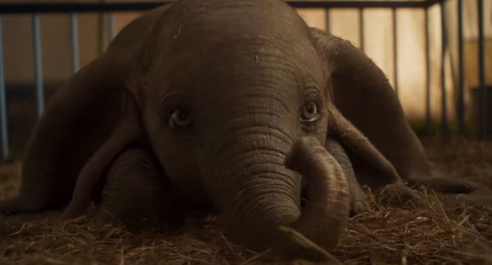 "Disney lanzó el tráiler oficial de la película live action de ""Dumbo"". (Foto: Captura de video)"