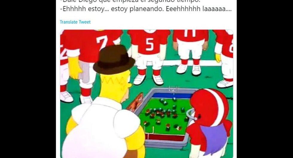 Los divertidos memes que generó el debut de Diego Maradona como entrenador de Gimnasia La Plata ante Racing Club. (Foto: Facebook)