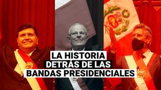 García, PPK y Sagasti: Las anécdotas detrás de las bandas presidenciales