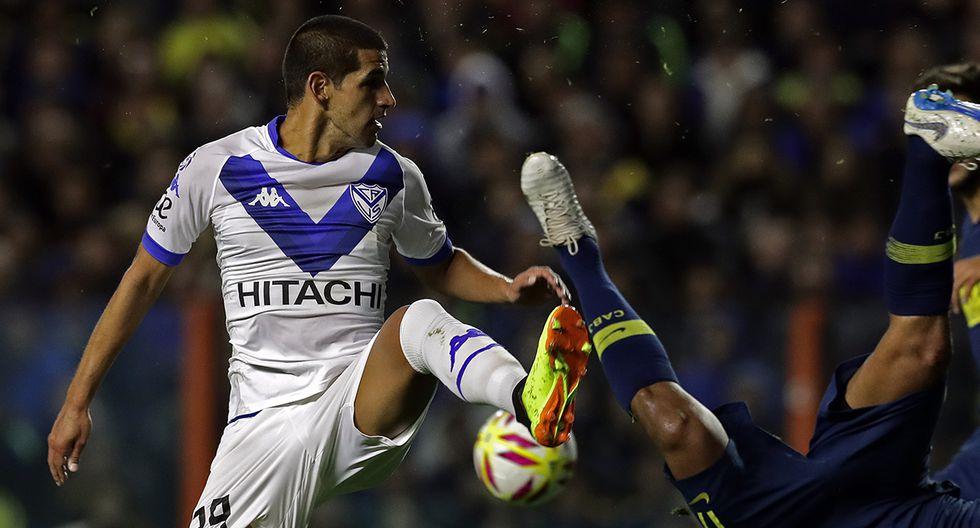 Luis Abram fue uno de los que más jugó esta temporada en Vélez Sarsfield. (Foto: AFP)