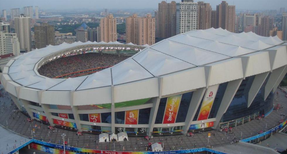 Shanghai: Estadio de Shanghái. (Foto: Agencias)